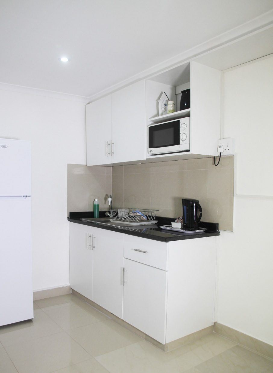 durban boutique hotel accommodation kitchen